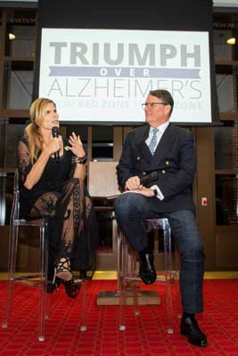 Triumph Over Alzheimer's Dinner and Forum at the Bush Institute in Dallas, Texas on October 22, 2019. (Photo/Sharon Ellman)